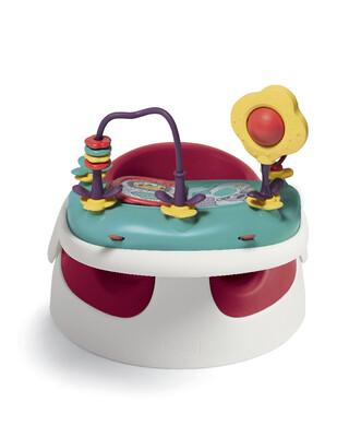 Baby Snug and Activity Tray - Red