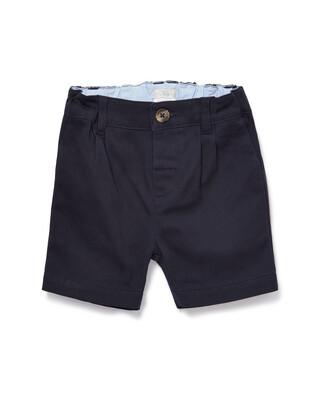 Navy Chino Shorts