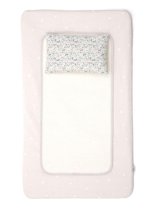 Luxury Changing Mattress - Millie & Boris Pink image number 1