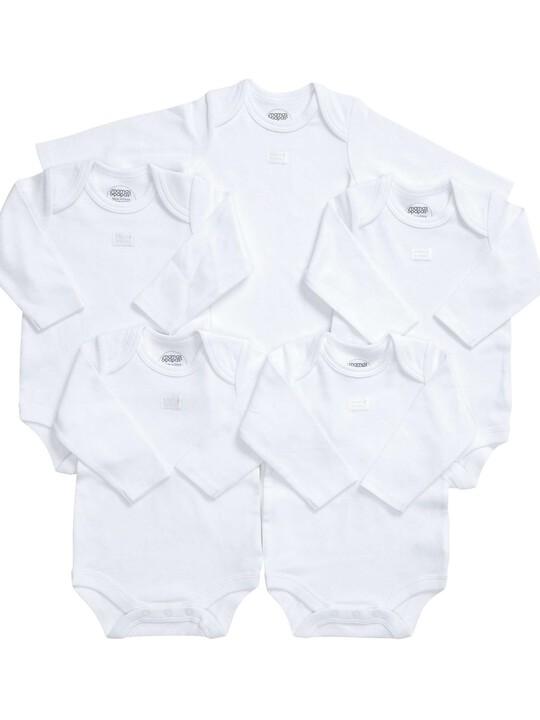 Long Sleeved Bodysuits (Set of 5) image number 6