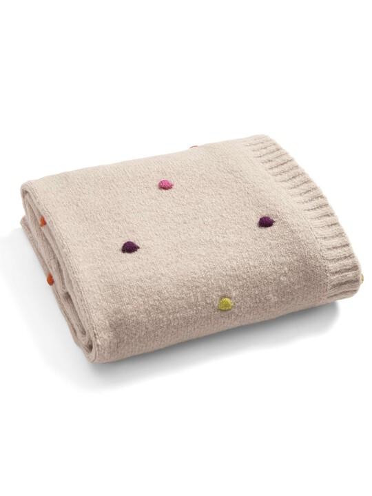 Zam Bee Zee - Knitted Blanket - 70 x 90cm image number 4