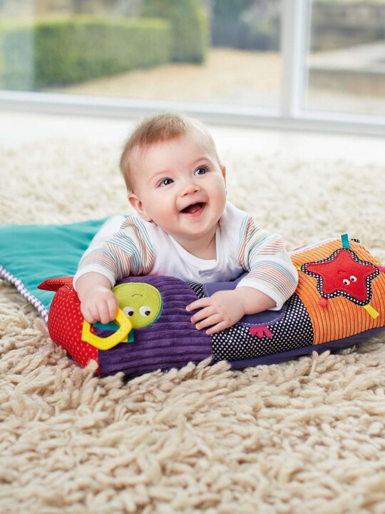 Babyplay - Tummy Time Activity Toy & Rug image number 1