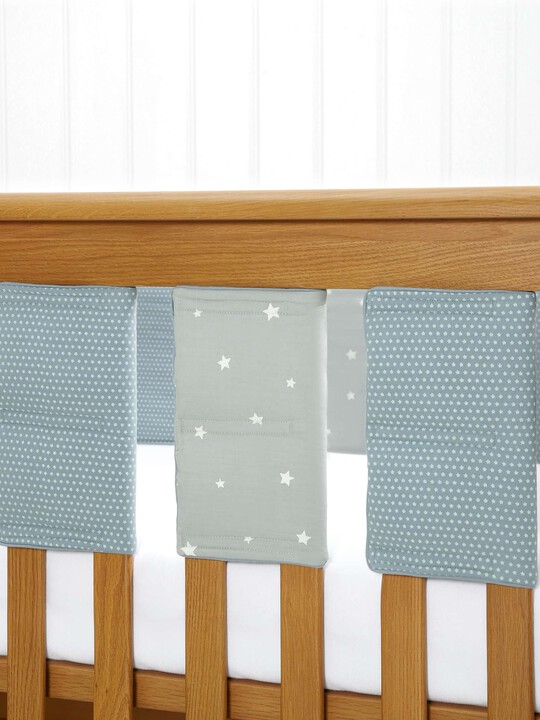 Millie & Boris - Boys Cot Bar Bumpers (pack of 8) image number 1