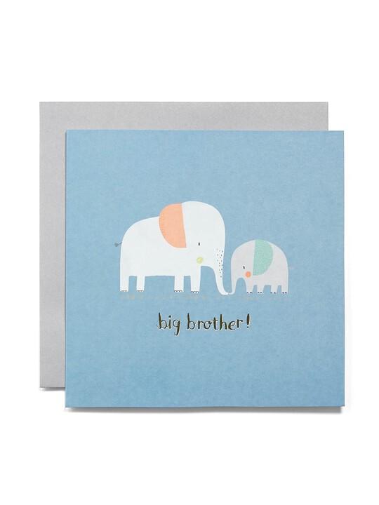 Big Brother Blank Greetings Card image number 1
