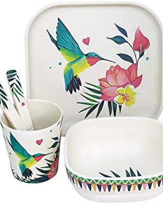 Tommy Lise Bamboo dinner set - Airy Grace