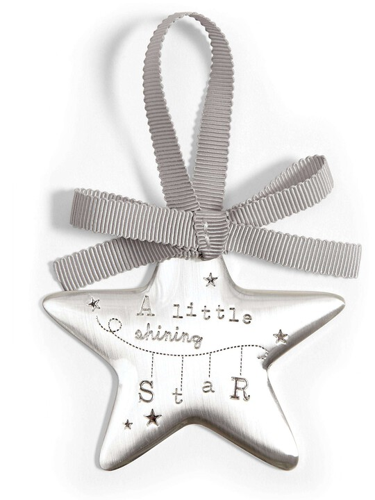 Welcome to the World - Silver Hanging Star image number 2