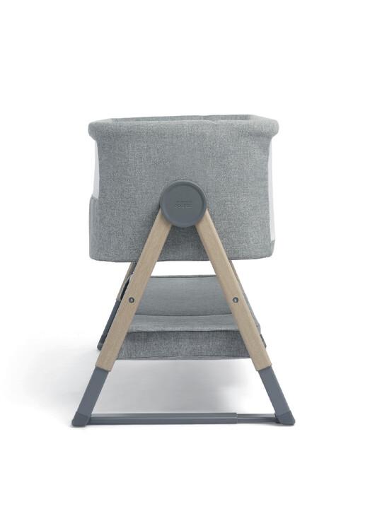 Lua Bedside Crib Grey image number 4