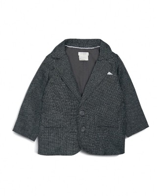 Woven Blazer Grey