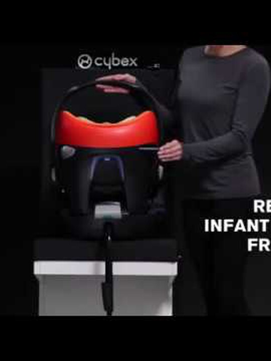 CYBEX Aton Q Car Seat - Navy image number 3