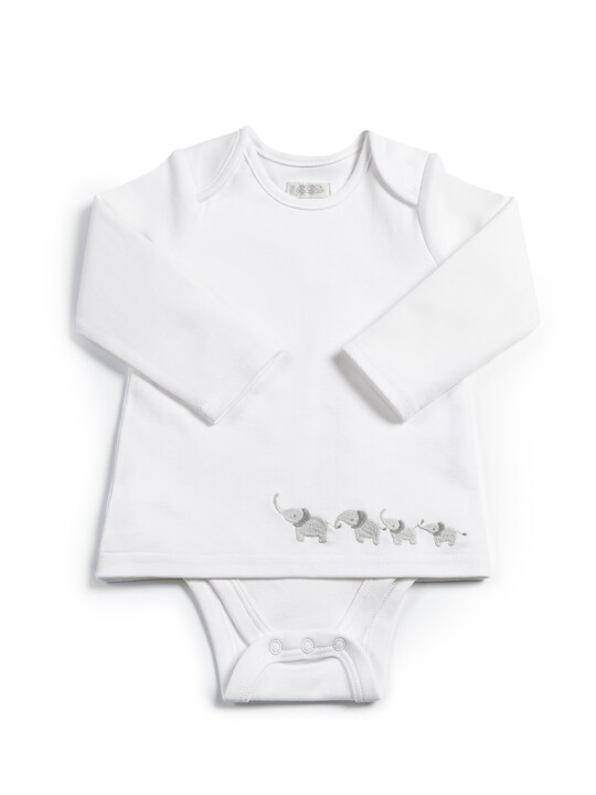 Textured Jersey Bottoms & Bodysuit - 2 Piece Set image number 3