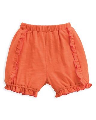 Frill Shorts Orange