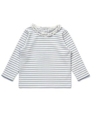 Striped Frill T-Shirt