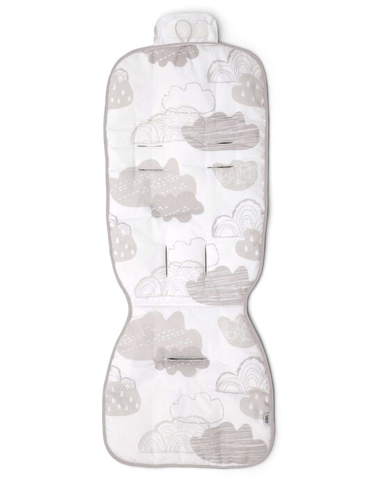 Cotton Pushchair Liner - Cotton Clouds image number 1