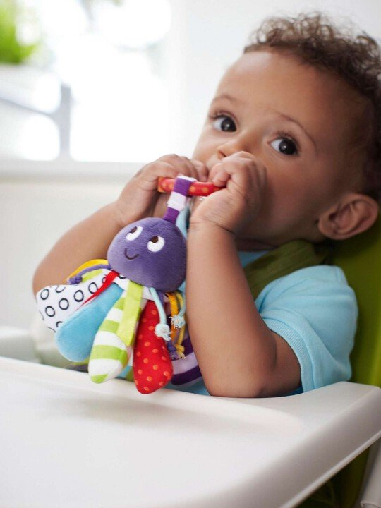 Babyplay - Linkie Toy Octopus image number 3
