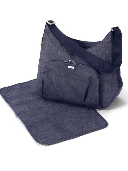 Ellis Shoulder Changing Bag - Denim image number 2
