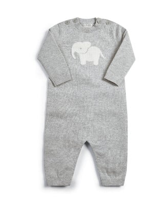 Knitted Character Romper