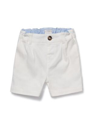 White Chino Shorts