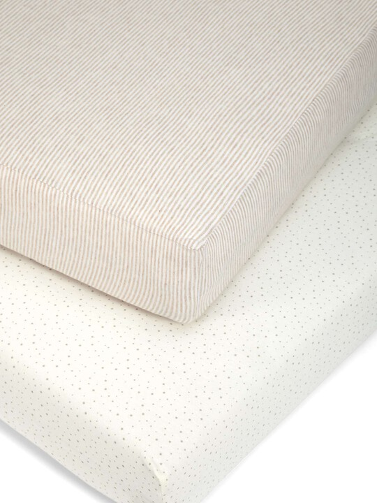 Millie & Boris - Pack of Two Fitted Sheets image number 1