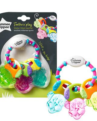 Tommee Tippee Teethe n Play Water Teether, (6 months +) - Multi Colour