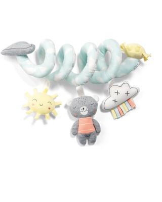 Hey Sunshine Bumper Bar Activity Spiral Travel Toy
