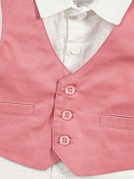 Pink Shirt & Waistcoat Set - 2 Piece image number 5