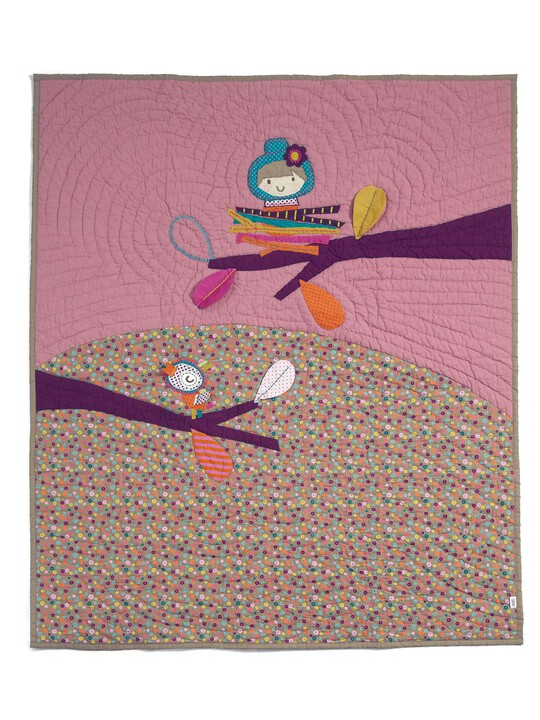 Timbuktales - Girls Cotbed Coverlet image number 5