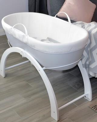 Shnuggle - Dreami Baby Sleeper - Grey Base + 2 In 1 Curve Stand