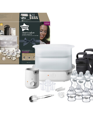 Tommee Tippee Closer to Nature Complete Feeding Kit - White