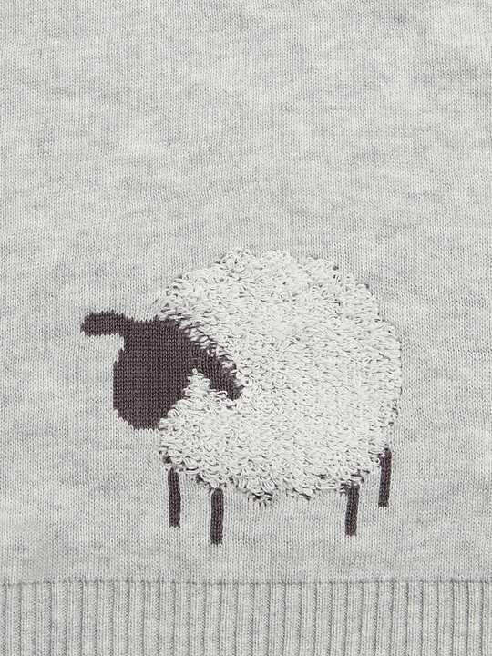 Sheep & Me Knitted Blanket image number 3