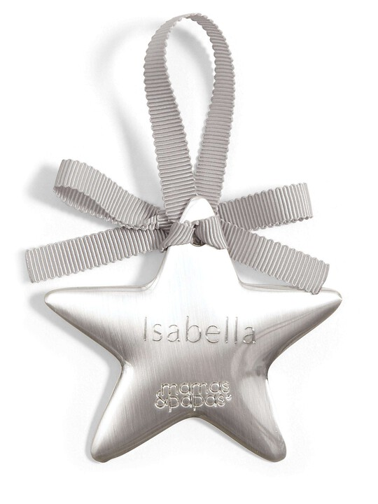 Welcome to the World - Silver Hanging Star image number 5