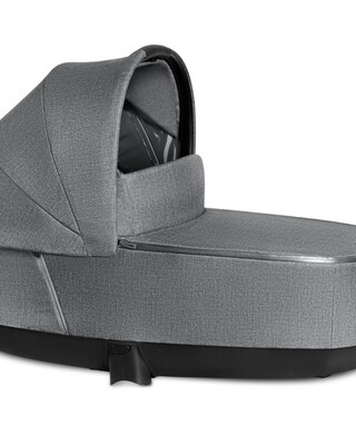 PRIAM Carry Cot Lux Manhattan Grey