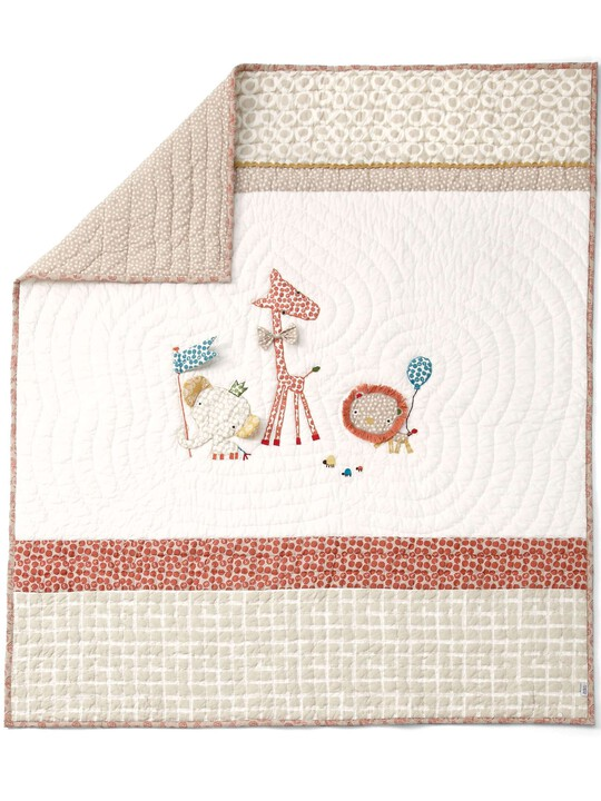 Zam Bee Zee - Cotbed Coverlet image number 1
