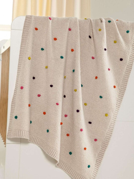 Zam Bee Zee - Knitted Blanket - 70 x 90cm image number 7