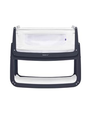 SnuzPod4 Bedside Crib - Navy