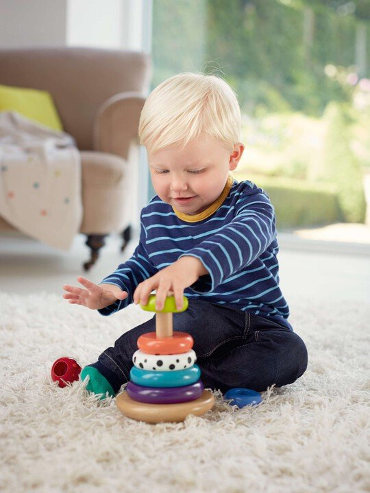 Babyplay  -  Wobbly Stacker image number 2