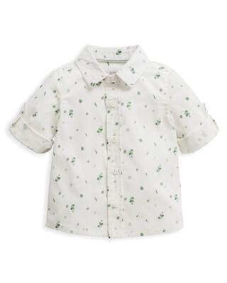Leaf Print Shirt