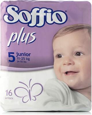 Soffio plus Soft Hug Parmon From 11Kg-25Kg,16 Diapers