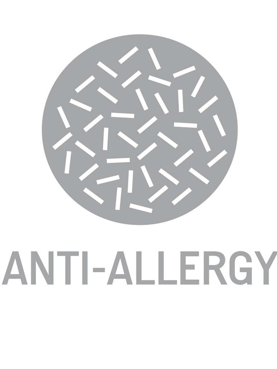 Sprung Anti-Allergy Cotbed Mattress image number 5