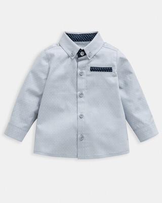 Spot Print Woven Shirt