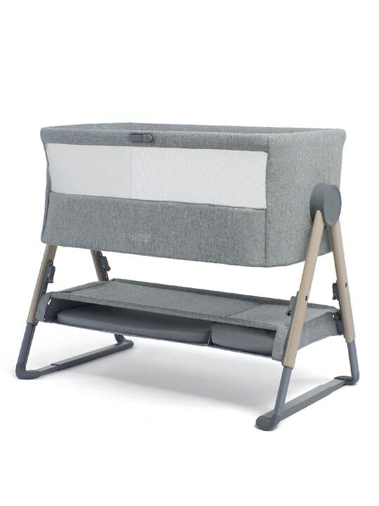 Lua Bedside Crib Grey image number 1