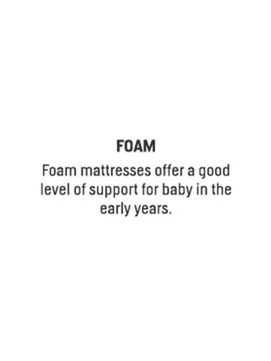 Foam Anti-Allergy Cotbed Mattress image number 2