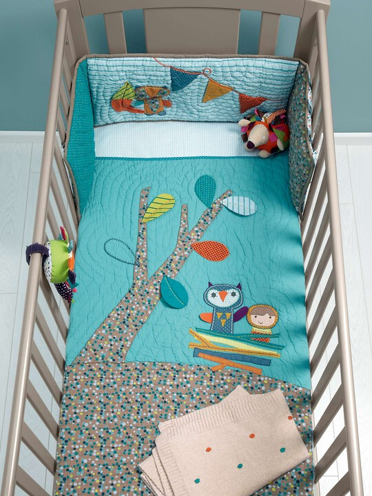 Timbuktales - Boys Cotbed Coverlet image number 4