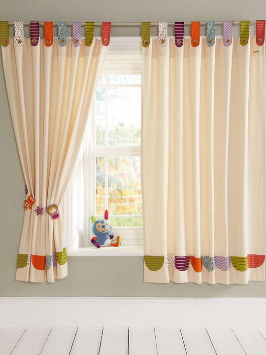 Timbuktales - Tab Top Curtains (132 x 160cm) image number 1