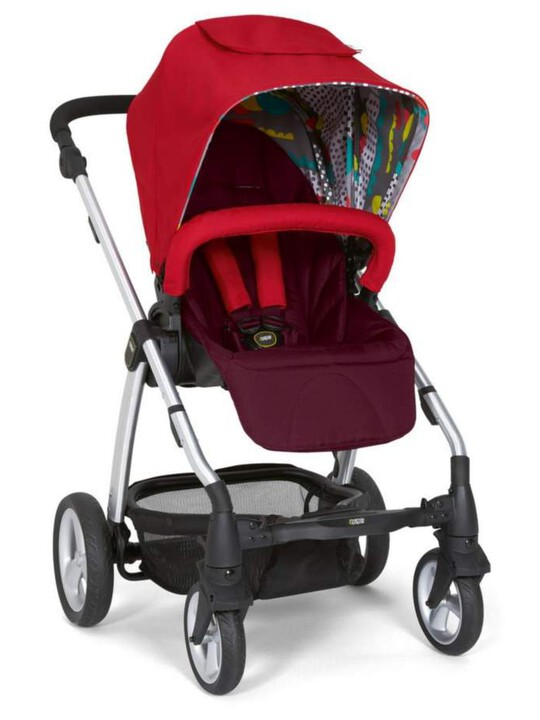 Sola 2 Pushchair - Bright Red image number 1