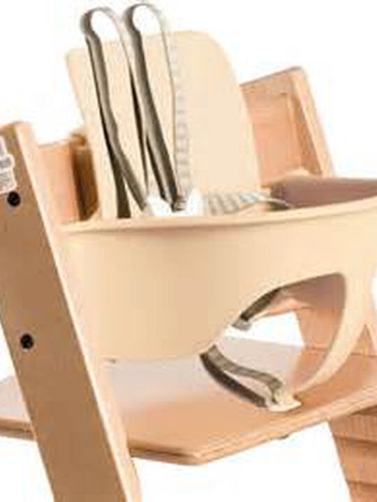 Stokke® Tripp Trapp Chair Baby Set - Natural image number 1