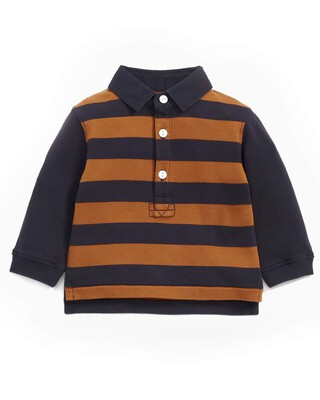 Striped Rugby T-Shirt