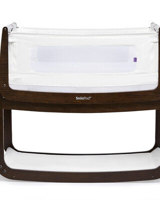 SnuzPod4 Bedside Crib - Espresso