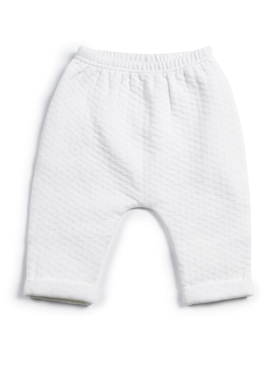 Textured Jersey Bottoms & Bodysuit - 2 Piece Set image number 4