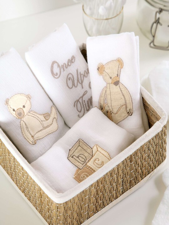 Once Upon A Time - Muslin Squares (pack of 4) image number 3
