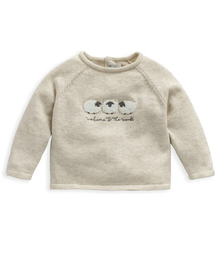Knitted Sheep Jumper